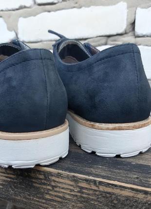 Броги женские tamaris 41 (26.5 см.) туфли (германия) кожа, туфлі6 фото