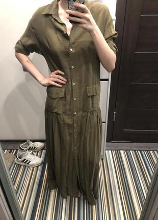 Платье рубашка sale3 фото