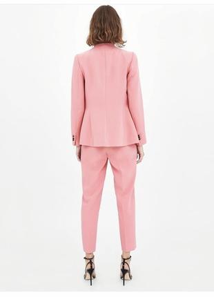 Костюм брючный пиджак жакет брюки высокая посадка костюм zara2 фото