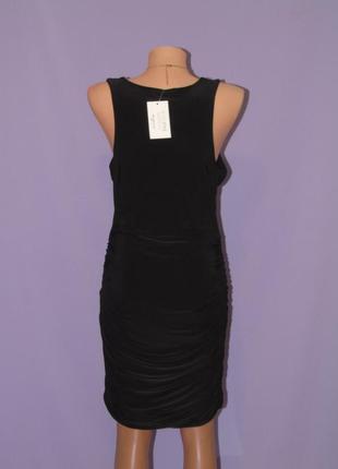 Новое черное платье 14 размера3 фото
