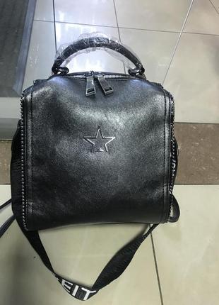 Кожаный рюкзак рюкзак-сумка