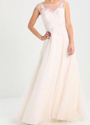 Шикарное свадебное платье mascara 42p