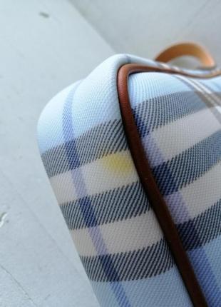 Burberry сумочка кроссбоди. кожа, канва5 фото