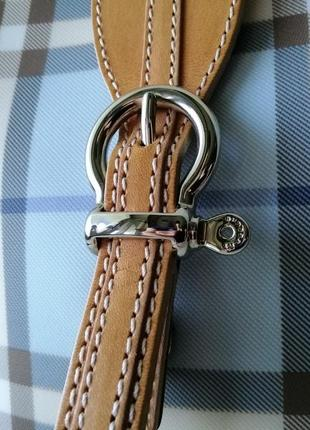 Burberry сумочка кроссбоди. кожа, канва7 фото