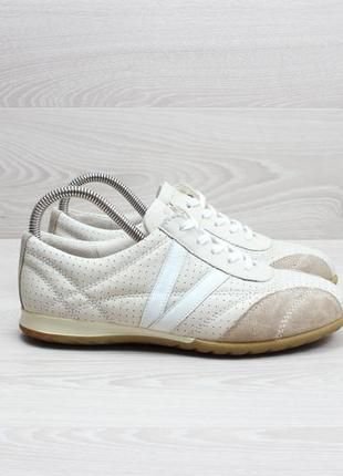Кожаные кроссовки ecco оригинал, размер 38