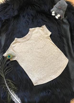 Детская бежевая футболка next