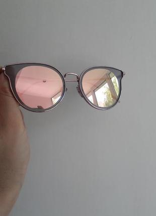 Солнцезащитные зеркальные очки  casta