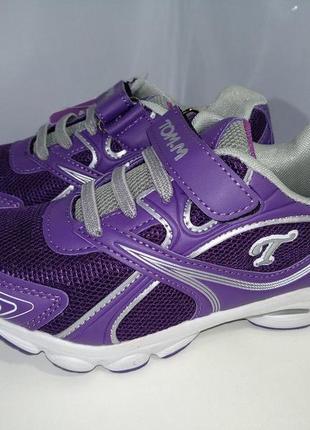 Отличные кроссовки кроссовки tom.m для девочки р.26,28,30.