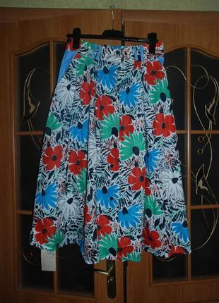 Яркий летний костюм. новый с биркой. настоящий винтаж!