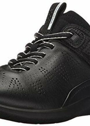 Кожаные кроссовки ecco soft 5 экко оригинал р.38 новые португалия