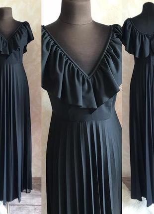 Шикарное платье в пол размер м
