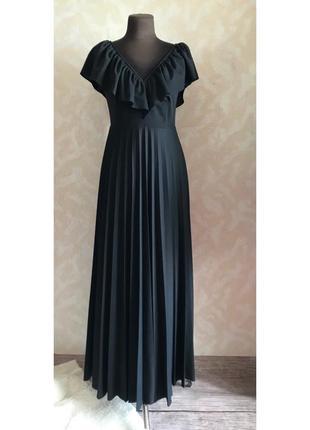 Шикарное платье в пол размер м2 фото