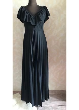 Шикарное платье в пол размер м3 фото