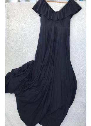 Шикарное платье в пол размер м5 фото