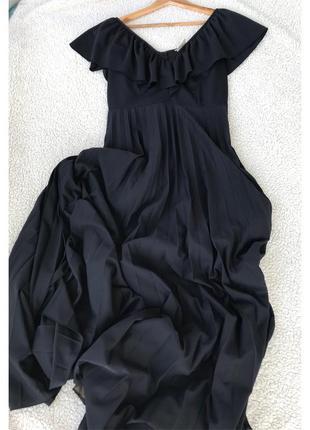 Шикарное платье в пол размер м7 фото