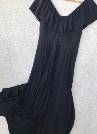 Шикарное платье в пол размер м6 фото