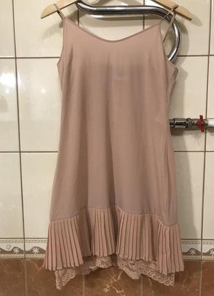 Базовое платье в бельевом стиле платье twin set