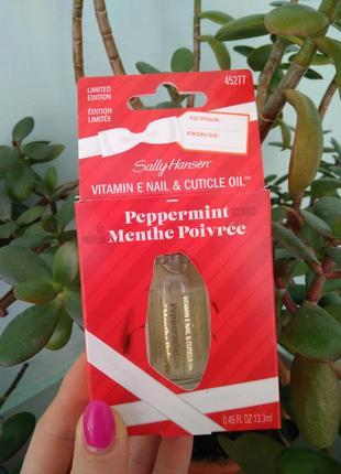 Sally hansen укрепляющее масло для ногтей и кутикулы с витамином е