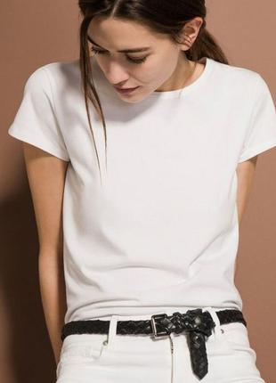 Белая базовая футболка, акционная цена!