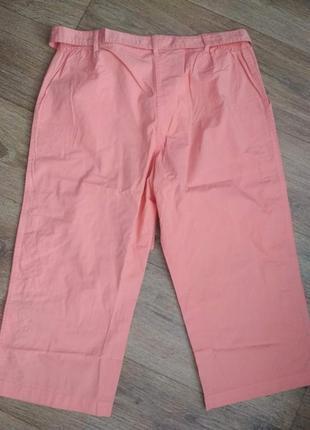 Новые коралловые брюки сasual comfort, амер. размер 30, наш примерно 66-682 фото