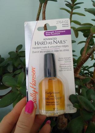 Sally hansen hard as nails средство для укрепления ногтей укрепитель для ломких