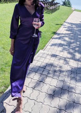 Платье халат ,надевалось один раз