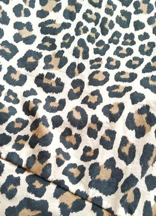 Трендовый свитшот в леопардовый принт с надписью spoilt h&m divided5 фото