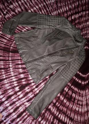 C&a 38eur куртка косуха екокожа