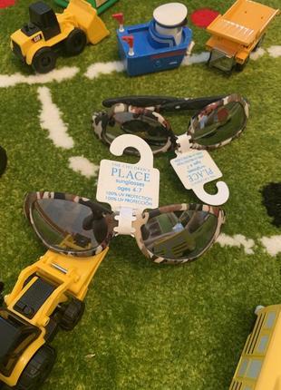 Супер крутые очки от солнца для мальчишки