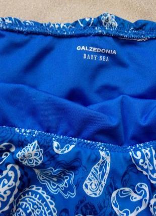 Купальник calzedonia baby sea девочке на 10-12 лет рост 140-152см3 фото