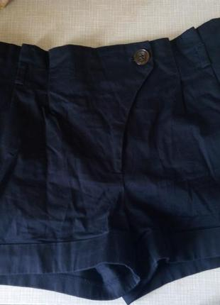 Темно-синие шорты  atmosphere