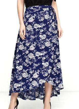 Длинная юбка макси на запах francesca's usa