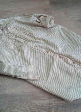Котонова оверсайз сорочка від манго