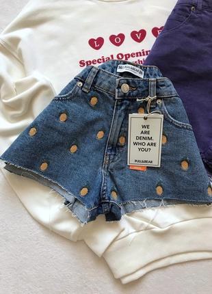Круті джинсові шорти шорты шортики джинсовые pull&bear