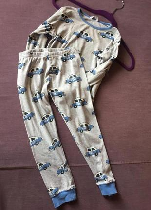 Пижама softwear в полицейские машинки