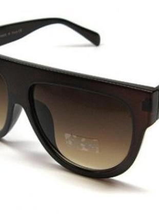 Модные брендовые очки маска унисекс фирмы celine