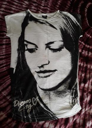H&m туника футболка