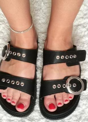 d3fd36339 Босоножки и шлепанцы на среднем каблуке, купить в интернет-магазине ...