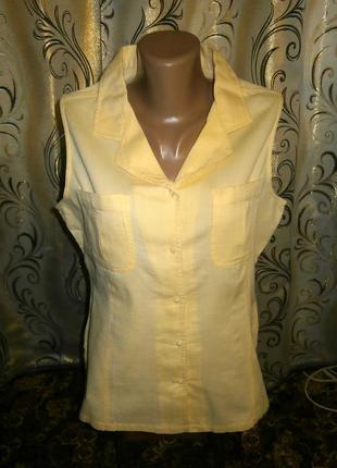 Женская хлопковая рубашка без рукавов bhs