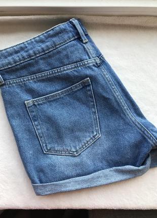 Джинсові шорти джинсовые шорты шортики вінтажні h&m