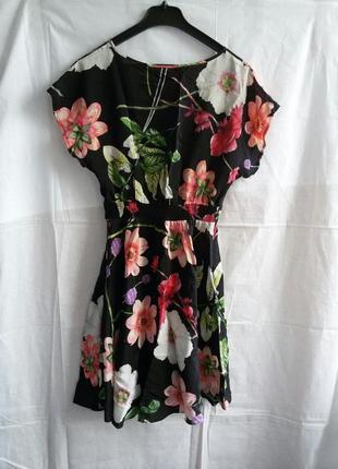 Шовкове плаття в квітковий принт цветочный принт