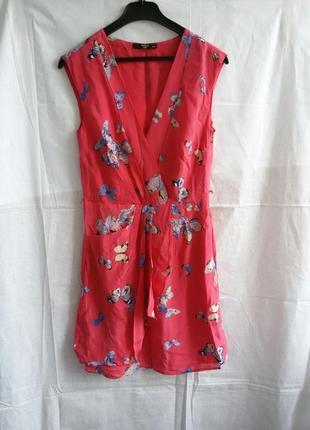 Шовкове плаття в квітковий принт шелк цветочный принт