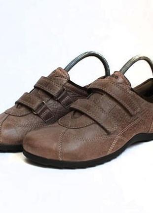 Кожаные туфли ессо. размер 38