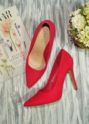 New look. фирменные красивые туфли лодочки