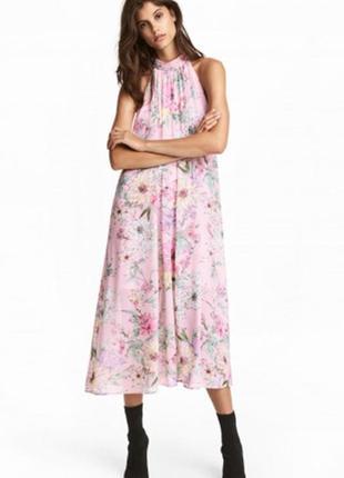 Оригинальное шифоновое платье от бренда h&m разм. 44