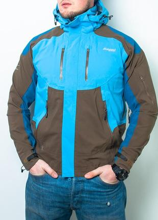 Мужская куртка bergans of norway dermizax mens jacket waterproof 6200 bygdin hooded coat