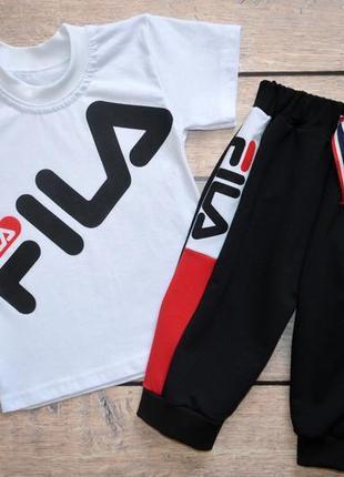 3bdbb9446 Детские спортивные костюмы Fila 2019 - купить недорого вещи в ...