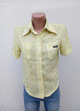 Салатовая рубашка
