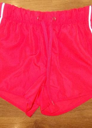 Яркие спортивные шорты размер xs-6