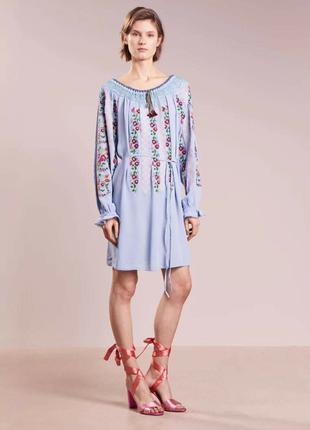 Новое платье вышиванка сукня the needle&thread,  оригинал cos sandro maje